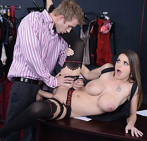 Nude Girls Office Porn Pictures